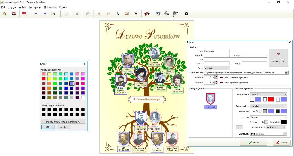 Drzewo rodziny